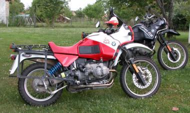 R100GS x2